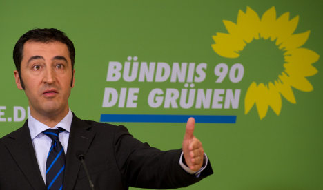 Özdemir says Greens must not rule out governing with conservatives