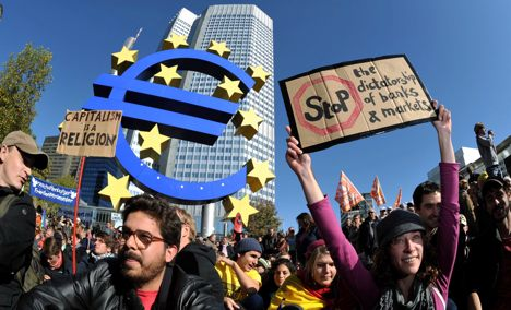 Occupy Wall Street comes to Germany