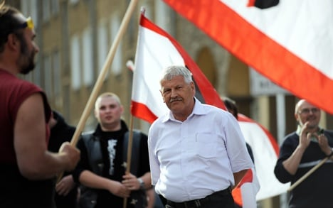 Neo-Nazi boss to appeal to top court for hotel ban