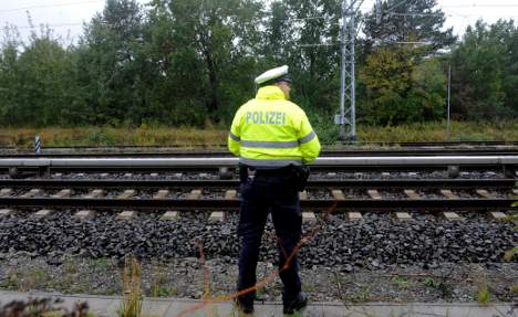 New incendiary device found on train tracks