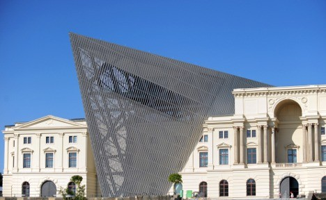 Dresden's Military History Museum gets Libeskind revamp