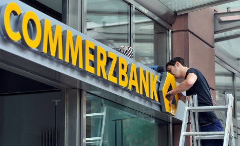 Commerzbank shares tank massively