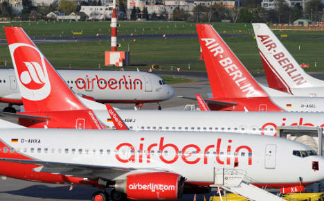 Air Berlin seeks Chinese and Mideast cash