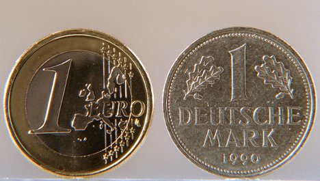 German identity - cemented in the euro