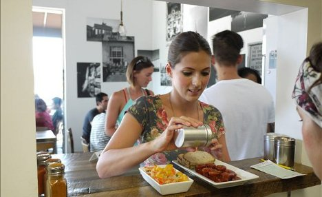 LA goes crazy for Berlin Currywurst snack