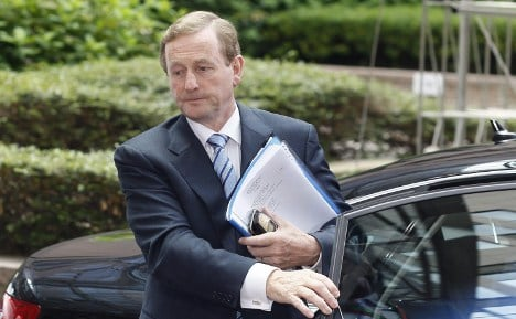 Irish irate as Bundestag sees budget first