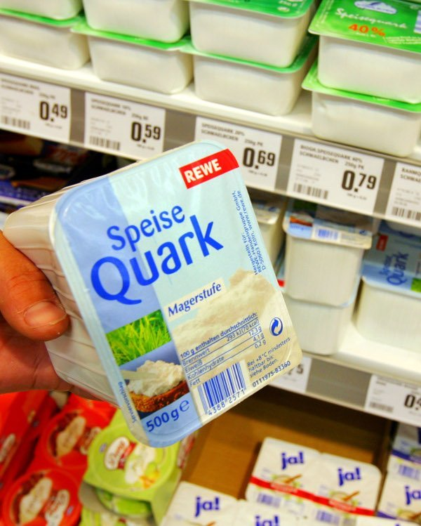 Quark<br>Is it cheese, cream, or somewhere in-between? Nobody's sure. However quark is, despite its gastro-ambiguity, an incredibly versatile ingredient in sweet and savoury German cooking and a low fat alternative to other dairy products. Over the past years it's even been creeping away from Germany and appearing in foreign supermarkets.Photo: DPA