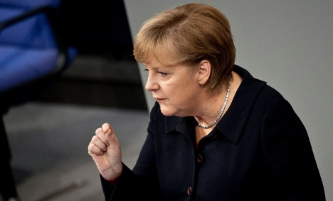Merkel: Germany wants 'fiscal union' for euro
