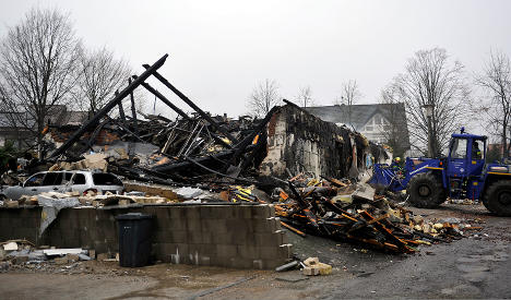 House explodes while family on holiday