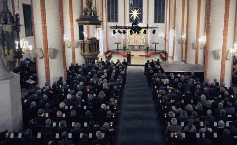 Most Germans won't go to church this Christmas