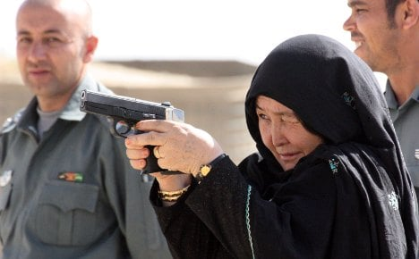 Germany funds Afghan TV cop show