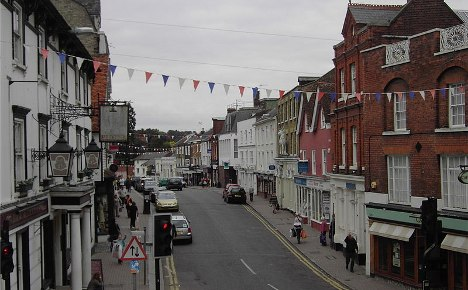 English town ends twinning with Germany