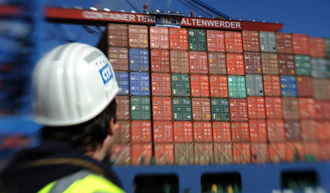 German firms expect robust exports in 2012