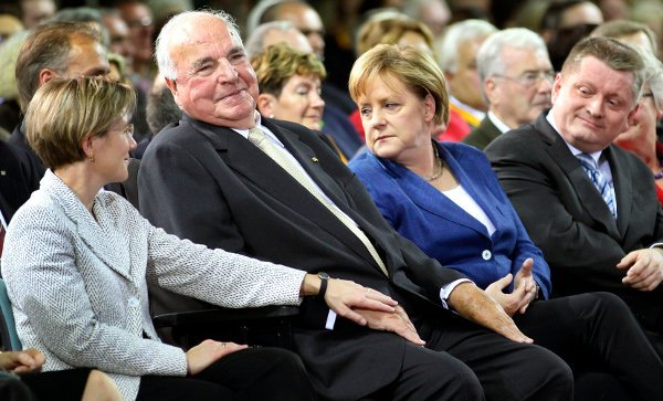 The CDU slush fund scandal<br>Ex-Chancellor Helmut Kohl was thrown into disrepute when it came to light that his party, the Christian Democrat Union, had a string of secret bank accounts during the 90s in which undeclared donations to the party were stashed. The whole affair wasn't just decidedly back-handed, as they all went untaxed – but it also turned out that some of them were financial 'thank you' gifts coming from arms dealers. Photo: DPA