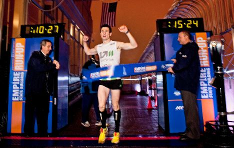 German wins Empire State Building race – yet again