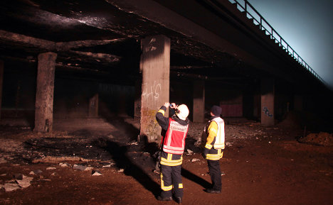 Rhineland faces road chaos after bridge fire