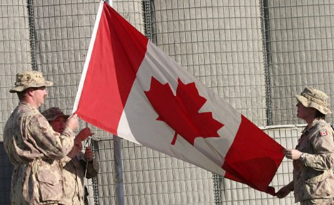 Canada wants military base in Germany