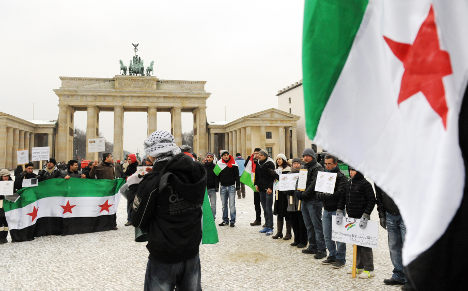 Syrian spy suspects arrested in Berlin