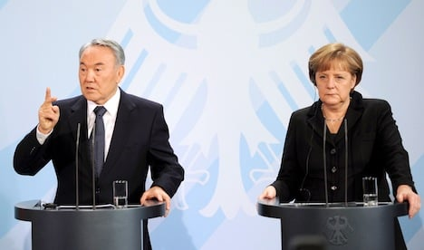 Germany signs €3 bln in deals with Kazakhstan