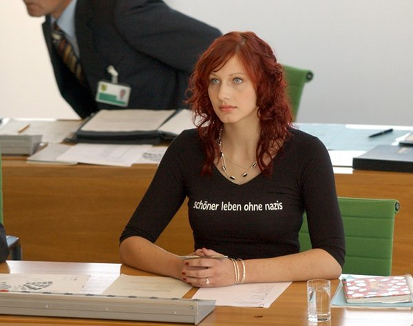 Julia Bonk<br>Left-wing lady Julia Bonk was the youngest person ever to be elected into regional German parliament – aged just 18. Flame-haired Bonk is now, at the age of 25, a representative for the country's socialist party <i>Die Linke</i> and is a member of the Saxon state parliament. Photo: DPA