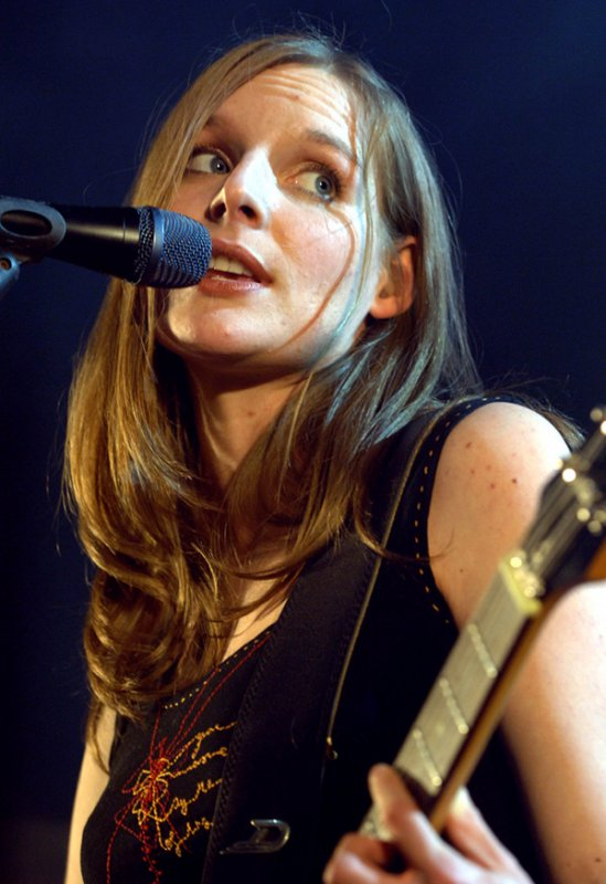 Judith Holofernes<br>Berlin-local Holofernes is the lead singer of cult German band <i>Wir Sind Helden</i> and has perfected the 'just rolled out of bed creative look' that makes her so irresistible. Unfortunately she's married to a fellow band member. Photo: DPA