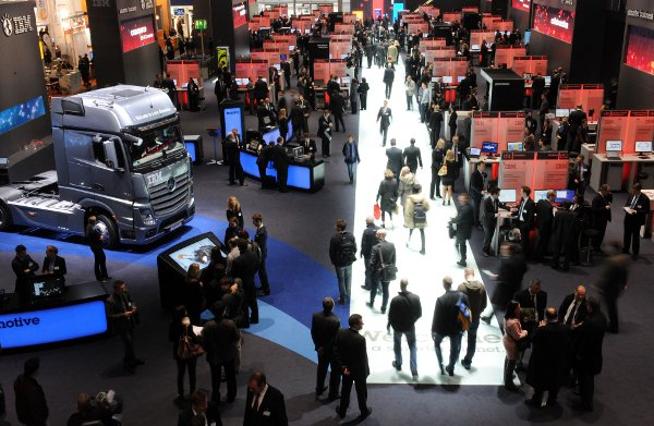 It was a great year at CeBIT - see you in 2013!Photo: DPA