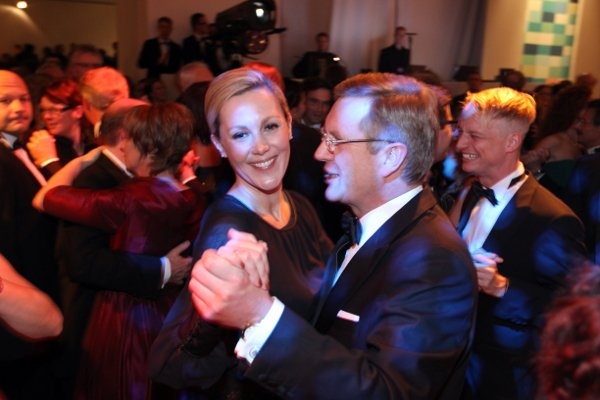 Bettina Wulff<br>Newly ex-first lady of Germany Bettina Wulff is married to Christian Wulff, who she met when she was working in PR. The publically shamed president swept her off her feet and transformed her into the sculpted German vision that she is today. Photo: DPA
