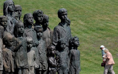 German children killed in WWII remembered