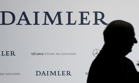 Daimler 'altering own Wikipedia page'