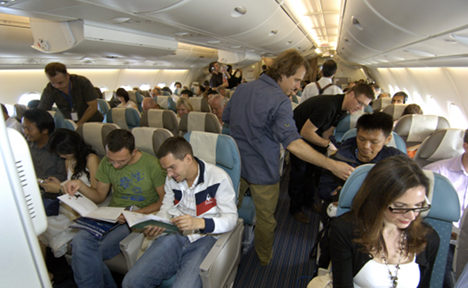 US airlines fight 'cash-grab' ticket tax