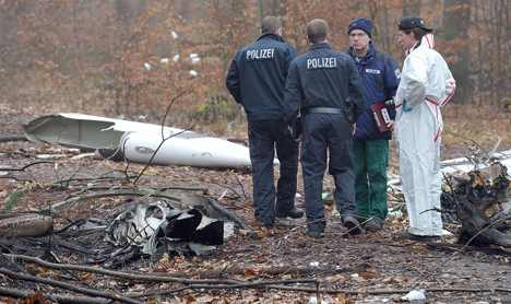 Victims in Friday's plane crash identified