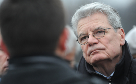 Gauck to be made president on Sunday