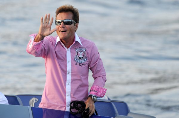 Dieter Bohlen in a very snazzy shirtPhoto: DPA