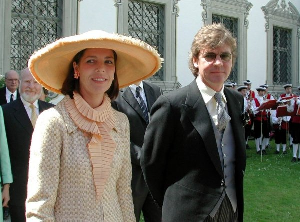 Prince Ernst August of Hanover with his wife, Princess Caroline of MonacoPhoto: DPA