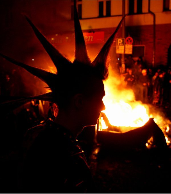 Far-left anti-capitalists have traditionally used the day as a license to commit violence.Photo: DPA