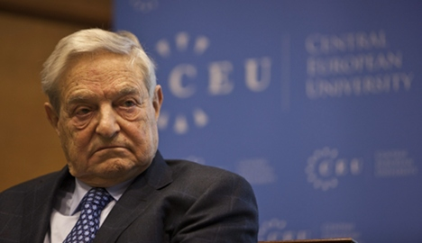 Soros: Germany should bail out the euro