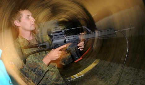 Bundeswehr soldiering on with overheating guns