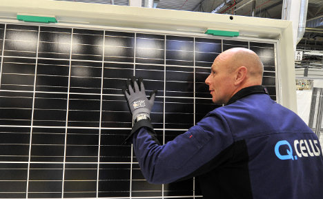 Lights go out at leading German solar firm