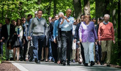 Obama and Merkel agree: austerity and growth