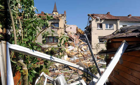Couple's house blown away by gas explosion
