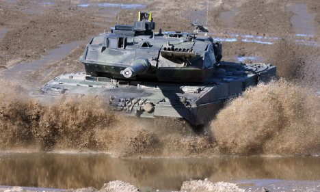 Activists offer cash for info on tank makers