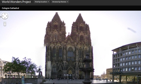 Google butchers Cologne Cathedral