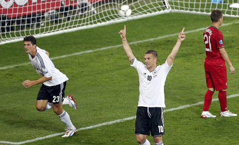 Germany begin Euro 2012 with a win
