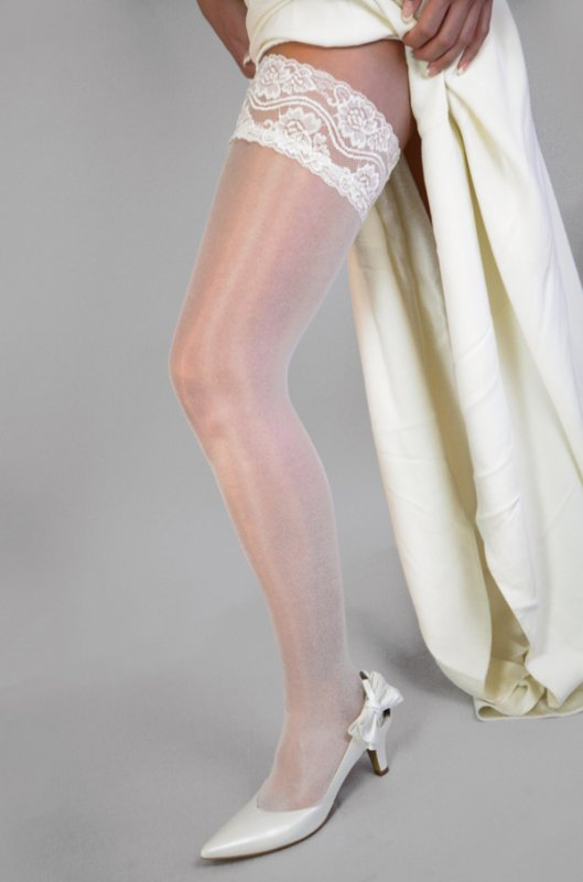 Wedding stockings<br>At the end of weddings, the bride and groom are meant to sit down on the marriage bed, while the bridesmaids and attendant young men turn their backs and attempt to fling their post-celebration socks and stockings into the happy couple's faces. Whoever succeeds will be the next to marry. Really.Photo: DPA
