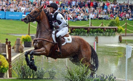 Germans take double gold in eventing