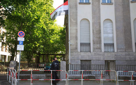 Syrian charged with spying from embassy