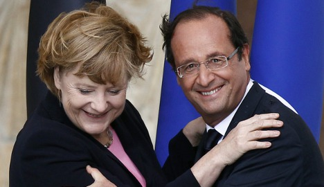 Germany, France will do 'everything' for Eurozone