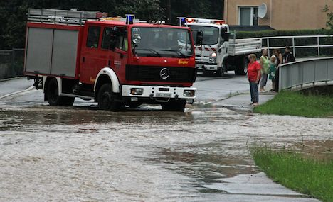 Four dead as storms rage across Germany