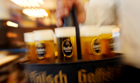A beer costs three minutes' work - like 1991