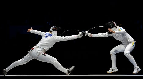 First German medal: a contested fencing silver
